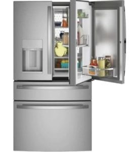 GE Profile 27.9 cu ft. Smart 4-Door French Door Refrigerator