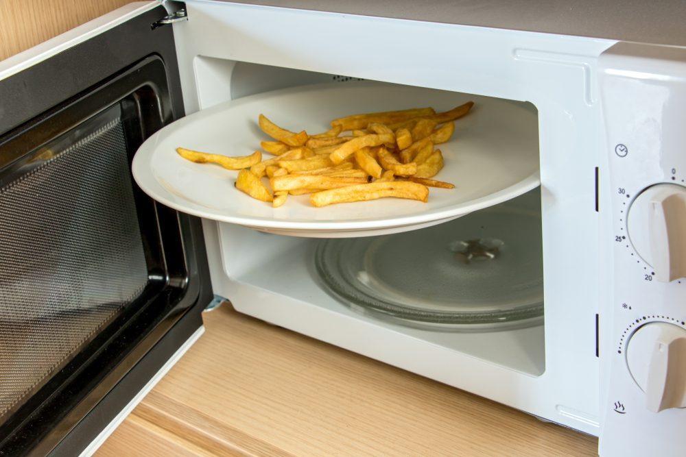 How To Reheat Fries In The Microwave