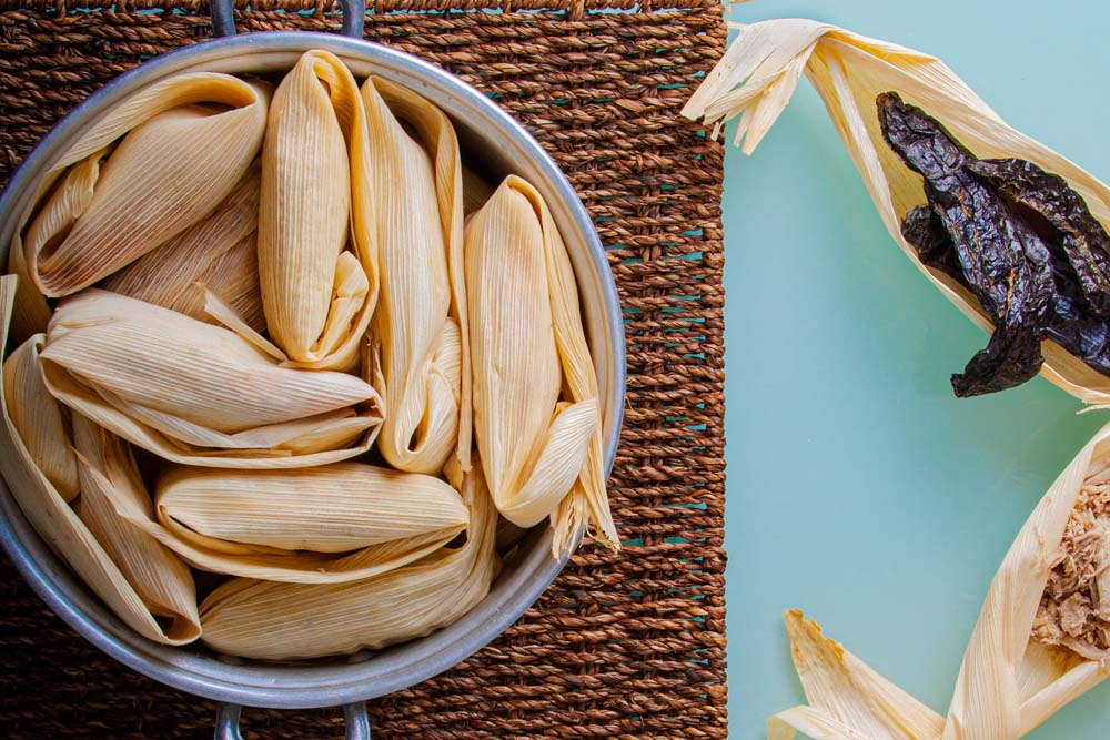 How to reheat frozen tamales