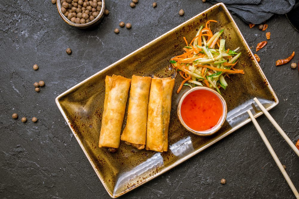 The Difference Between Egg Rolls And Spring Rolls