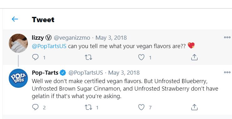 twitter POP tart