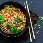 Easy Thai Noodles With Peanut Sauce